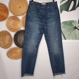 NEW Madewell Perfect Vintage Jean Distressed Step
